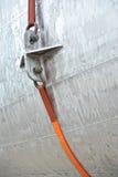 Corde orange Photo stock