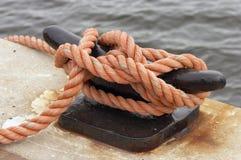 Corde orange photographie stock libre de droits