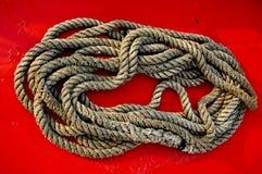 corde pour le bateau Photographie stock libre de droits