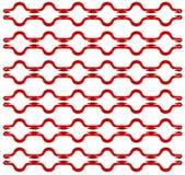 Corde rouge image libre de droits