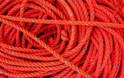 Corde rouge Photo libre de droits