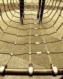 Corde sul blocco per grafici di scalata Immagine Stock