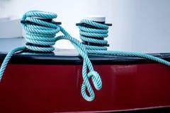 Corde sur un yacht Photos stock