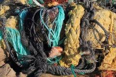 Corde sur une plage Photos stock