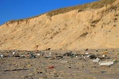 Corde sur une plage Photo libre de droits