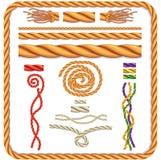 Corde tordue par vecteur Image libre de droits