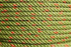 Corde verte en gros plan comme fond image stock
