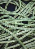 Corde verte pour s'élever images stock