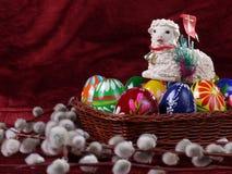 Cordeiro de Easter Fotos de Stock Royalty Free