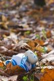 Cordeiro do brinquedo das crianças Fotografia de Stock