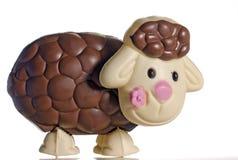 Cordeiro do ovo de Easter do chocolate Fotografia de Stock Royalty Free