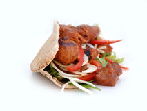 Cordeiro Kebab imagem de stock