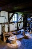 Corderie au ropewalk au musée d'air ouvert de Hagen Photographie stock libre de droits