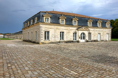Corderie Royale Rope Factory in Rochefort France. Corderie Royale maritime rope works factory building and museum at the historic royal French navy Arsenal of Stock Photography
