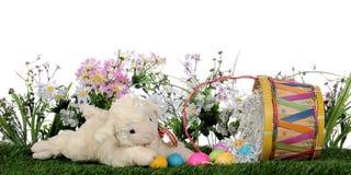 Cordero de Pascua Fotos de archivo libres de regalías