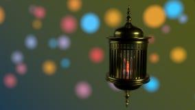 Cordero del kareem del Ramadán del fondo, representación 3d libre illustration