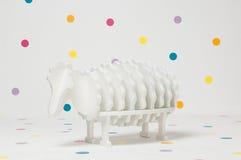 Cordero hecho en casa del juguete de los niños Imagen de archivo libre de regalías