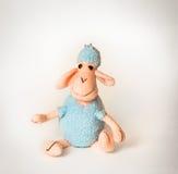 Cordero suave del juguete Fotografía de archivo libre de regalías