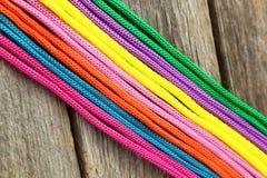 Cordes colorées Photo libre de droits
