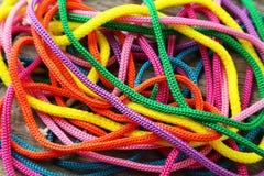 Cordes colorées Images stock