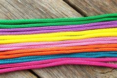 Cordes colorées Photographie stock