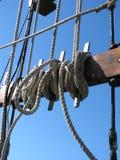 cordes de bateau Photo libre de droits