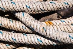 Cordes de pêche Photo libre de droits