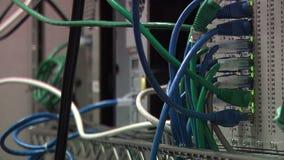 Cordes de réseau banque de vidéos