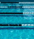 Cordes de ruelle de piscine images libres de droits