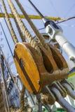 Cordes et calage marins Image libre de droits
