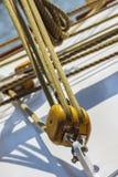 Cordes et calage marins Image stock