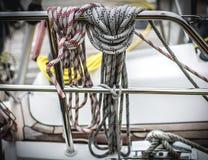 Cordes et noeuds Photographie stock libre de droits