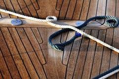 Cordes et paquet Image libre de droits