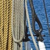 Cordes marines photographie stock libre de droits