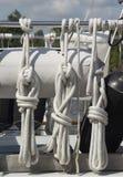 Cordes nautiques Photo libre de droits