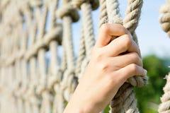 Cordes s'élevantes photo libre de droits