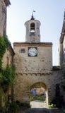 Cordes-sur-Ciel Bell Tower, France Stock Images