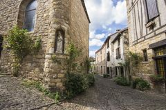 Cordes-sur-Ciel, France Royalty Free Stock Images