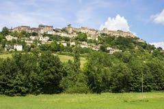 Cordes-sur-Ciel, France Stock Images