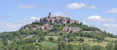 Cordes-sur-Ciel, il Tarn, Francia Immagini Stock