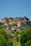Cordes sur Ciel, a medieval city  in France Royalty Free Stock Images