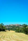 Cordes-sur-Ciel, Southern France. Stock Photos