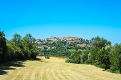 Cordes-sur-Ciel, Southern France. Stock Images