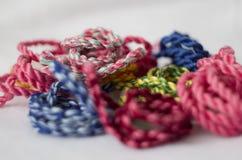 Cordes tordues colorées Image libre de droits