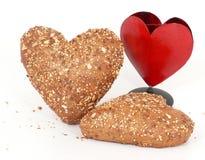 Cordial e rolos de pão friáveis Fotografia de Stock Royalty Free