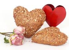Cordial e rolos de pão friáveis Foto de Stock