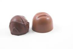 Cordiaux de chocolat image libre de droits