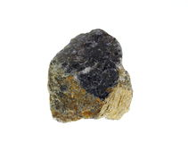 Cordierite. Origin: Madagascar Royalty Free Stock Photo