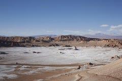 Cordigliera del Sal, San Pedro de Atacama, Cile immagine stock libera da diritti