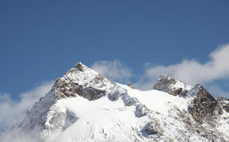 Cordigliera dell'alta montagna Fotografia Stock